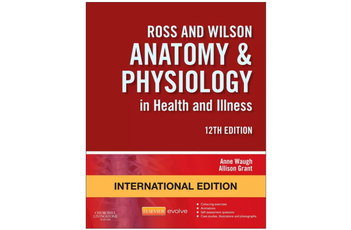 Ross and Wilson Anatomy and Physiology in Health and Illness 12th image