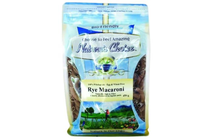 Rye Macaroni 100% Wholegrain Alternative  450g image