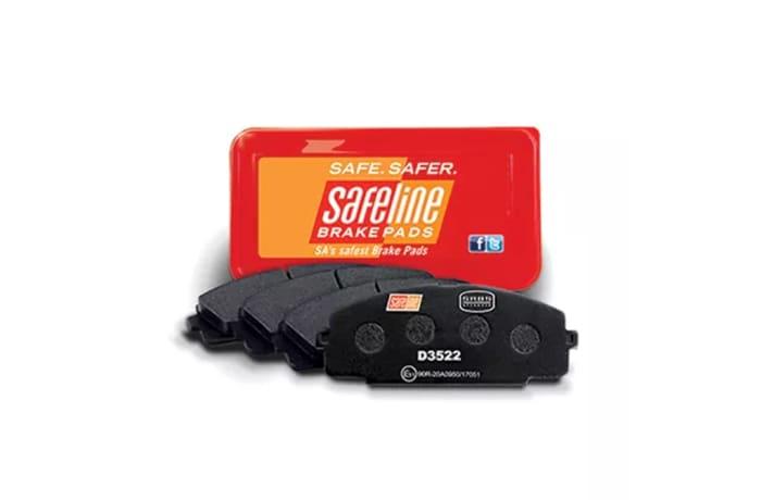 Safeline brake pads image