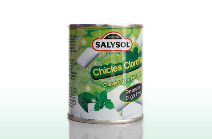 Salysol Chewing Gum Chlorophyll 30g image