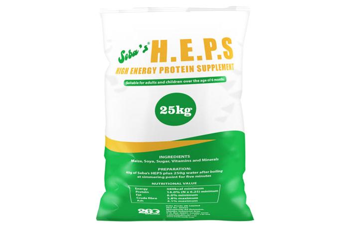H.E.P.S  Instant Porridge  Protein Supplement 25kg image