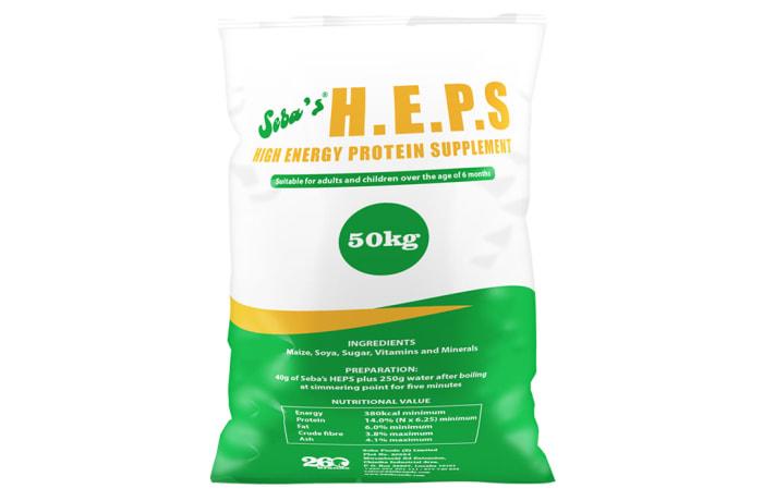 H.E.P.S  Instant Porridge Protein Supplement 50kg image