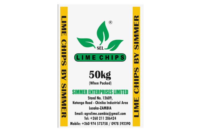 Lime Chips - 50kg image