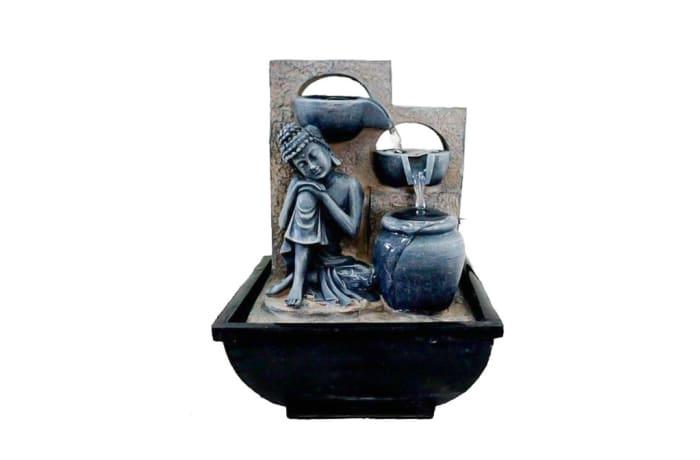 Water Feature  Sitting Buddha  Decorative Statue image