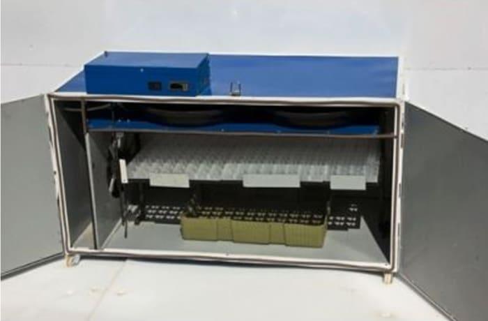 Automatic Turning Incubator 176 Chicken (441 Quail) egg Capacity  image
