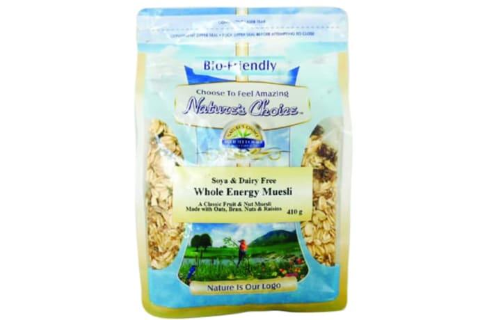 Soya & Dairy Free Whole Energy Muesli  410g image