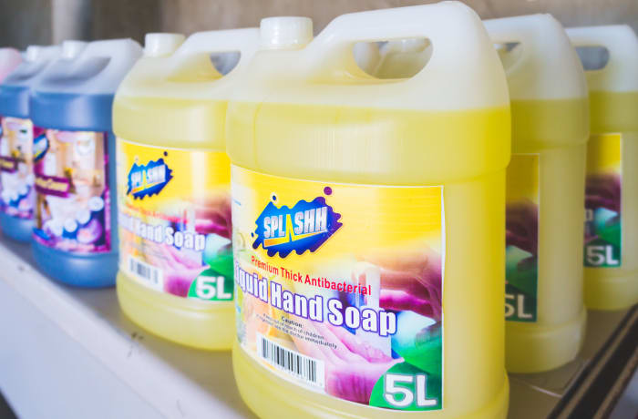 Splashh Cleaning Chemicals image