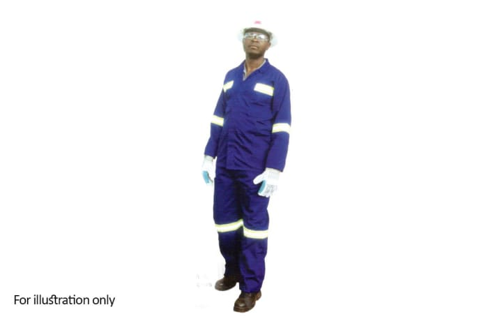 Clothing - Poly cotton work suits with relectors image