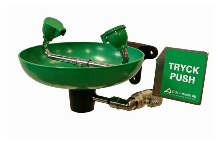 Eye Wash-Emergency Shower - Wash Basin green image
