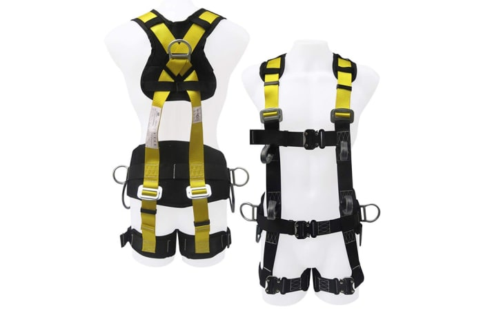 Fall Protection - Full Body Harness with Back Support image