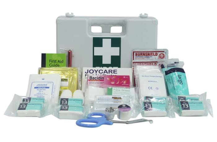 First Aid - Miners First Aid Box with contents image