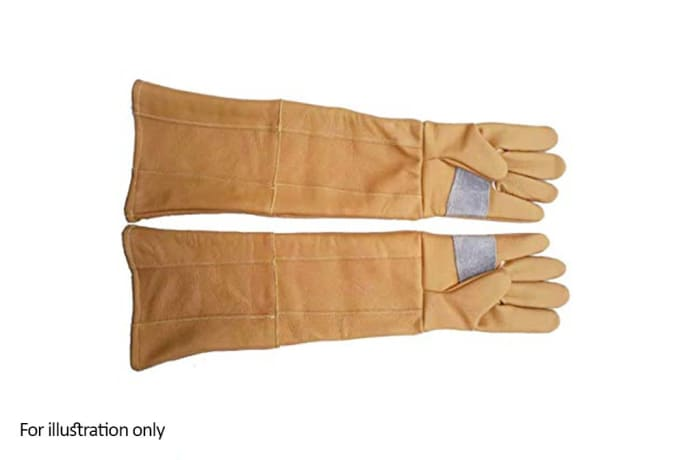 Hand Protection - Leather gloves 60cm long image