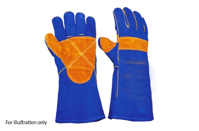 Hand Protection - Sperian Welders gloves cow hide perfect fit image