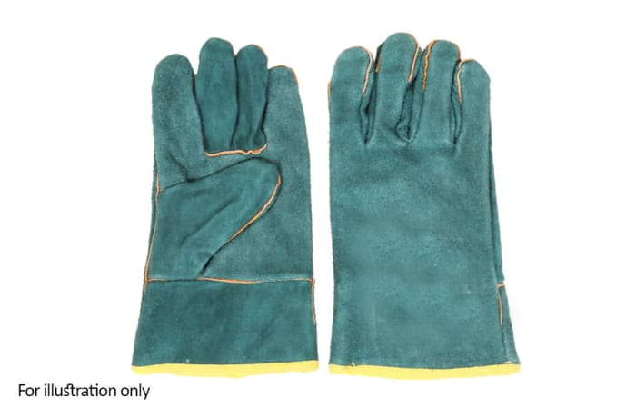 Hand Protection - Welders gloves short green image