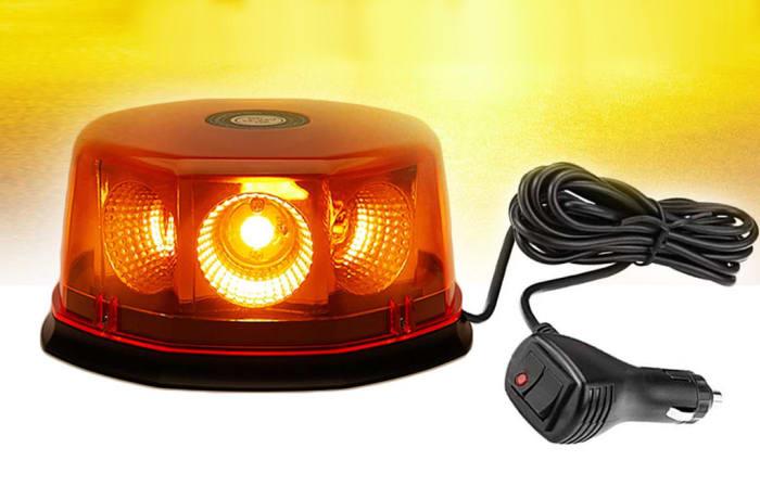 Mine Lighting - 12/24 volts Flashing Strobe Light Beacon image