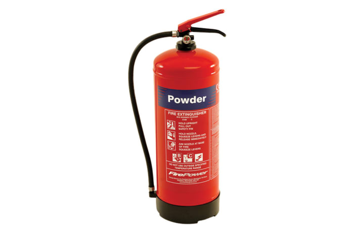 Portable Fire Fighting Equipment - 9L DCP External Cartridge Type  Fire Extinguiser image