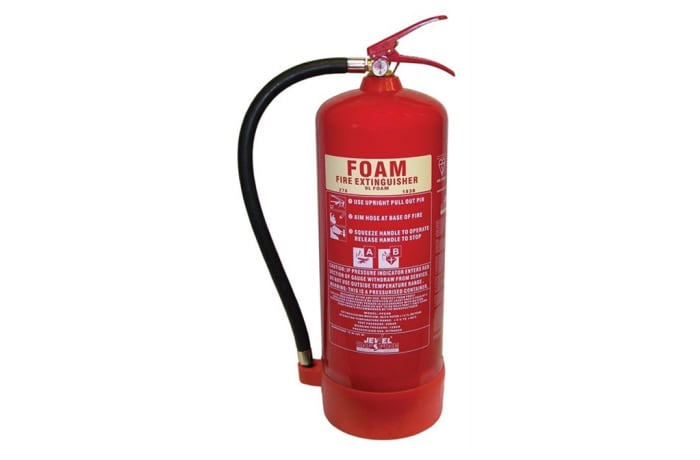 Portable Fire Fighting Equipment - 9L Foam Fire Extinguisher image
