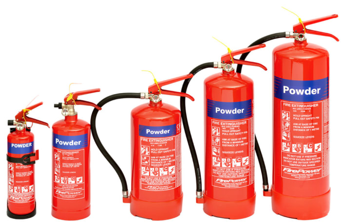 Portable Fire Fighting Equipment - Dry Chemical Powder Fire Extinguisers image