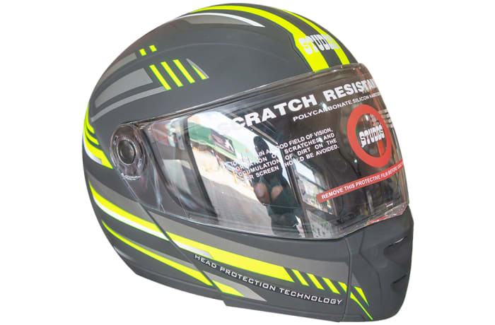 Motorcycle Helmet Full Face Black Scratch Resistant image