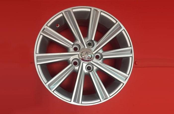 "Car Wheel Rim 16"" 5 Holes Toyota image"