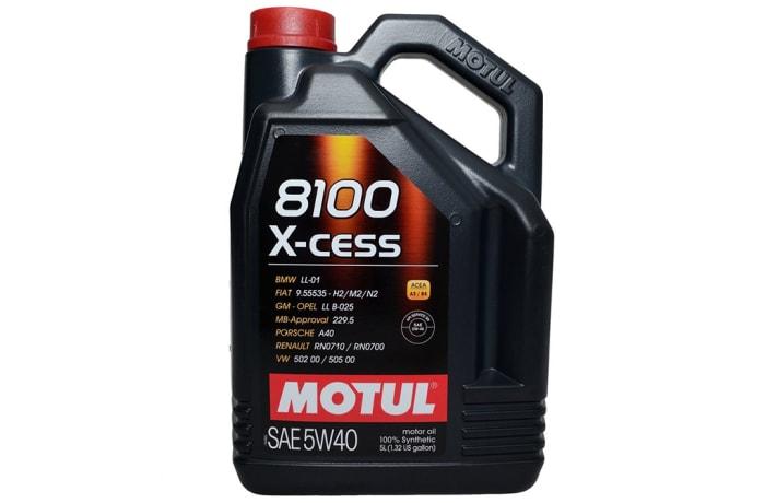 Motul 8100 X-cess Motor Oil image
