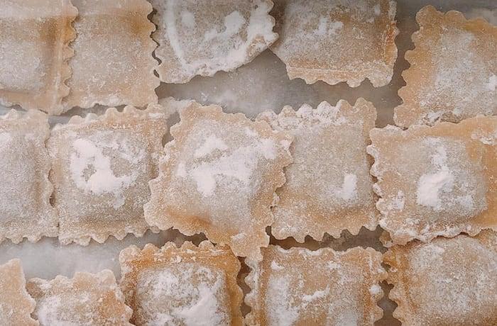 Tansi Kitchen -Fresh pasta: meat agnolotti  image