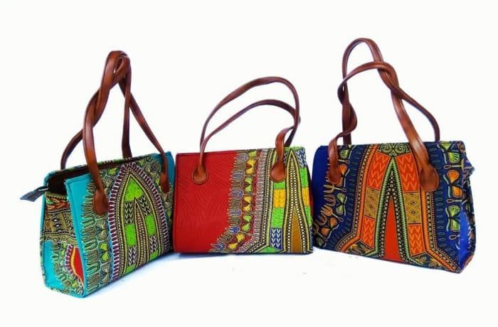 Ankara handbags image