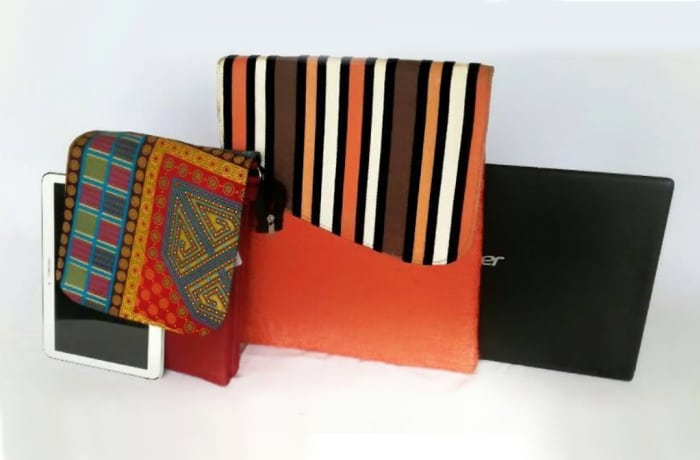 Hand crafted laptop and tablet cases image