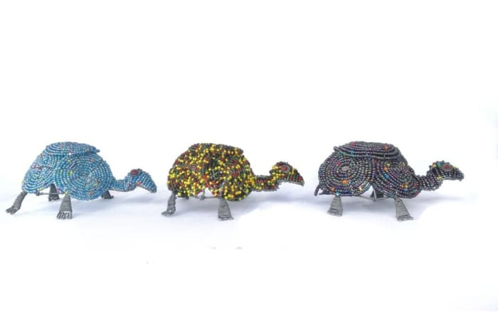 Turtle made of Beads image