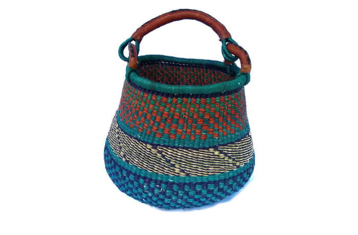 Hand woven bag image