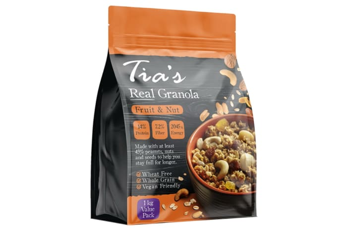 Granola Fruit & Nut Mix  Whole Grain Vegan Friendly  1kg  image