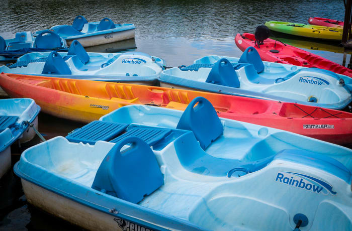 Water Activities: Paddle Boats image