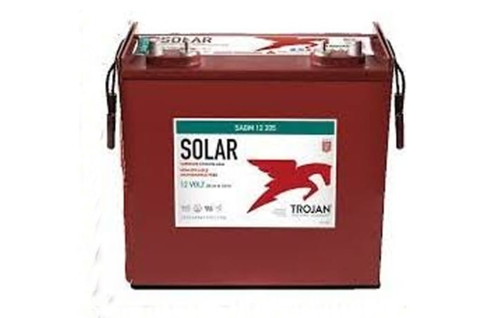 Trojan Solar SAGM 12 205 Deep-Cycle Solar AGM image