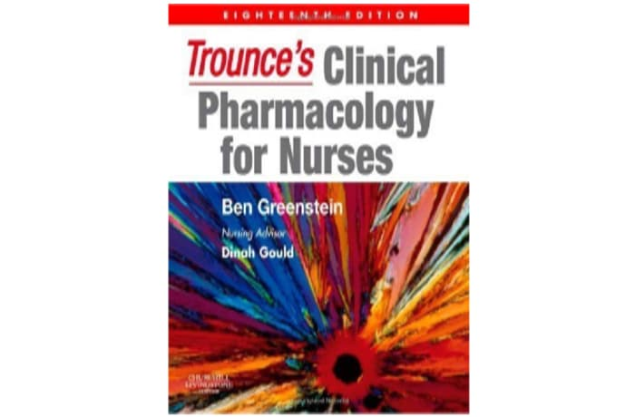 Trounce's Clinical Pharmacology for Nurses IE, 18th Edition image