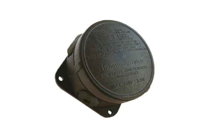 Cable Management Utility Junction Box No 1 Black Ujb1 image