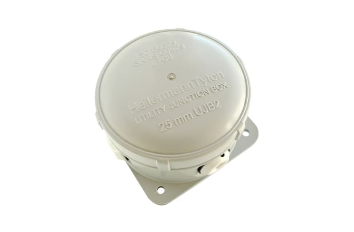 Cable Management  Utility Junction Box No 2 Grey Ujb2 image