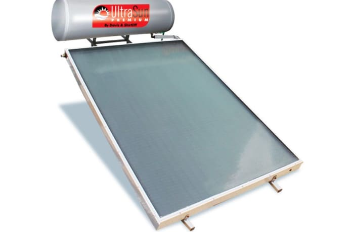 UltraSun 150L indirect solar hot water system image