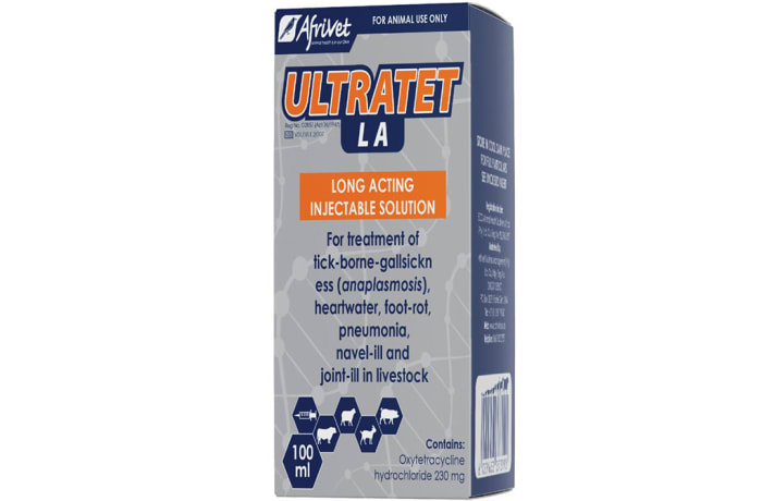 Ultratet La  Long Lasting Injectable Solution  Oxytetracycline Hydrochloride 230mg  image