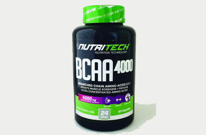 NUTRITECH - BCAA 4000 (Branched Chain Amino Acids) image