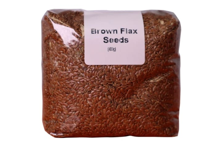 Brown Flax Seeds  Improves Digestive Health 400g image