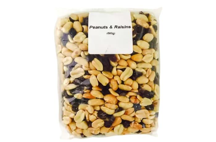 Peanuts & Raisins Mix  500g  image