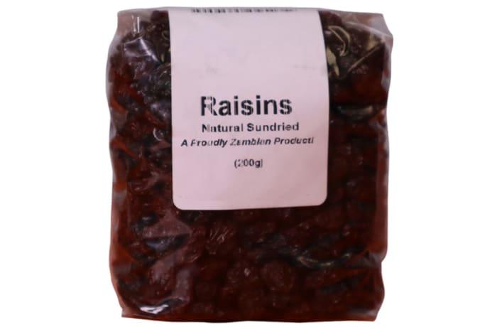 Raisins  Naturally Sundried Tasty High-Energy Snack  200g image