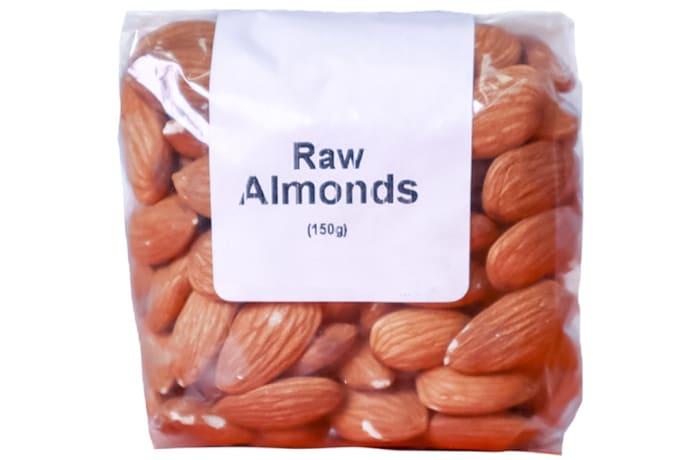Raw Almonds Organic, No Shell, Unsalted 150g image