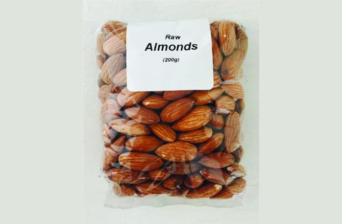 Raw Almonds image