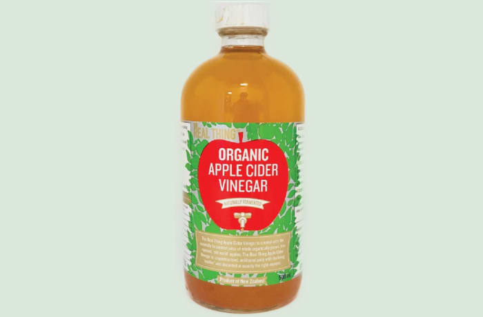 The Real Thing Organic Apple Cider Vinegar image
