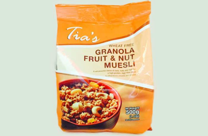 Tia's Granola Fruit & Nut Muesli image