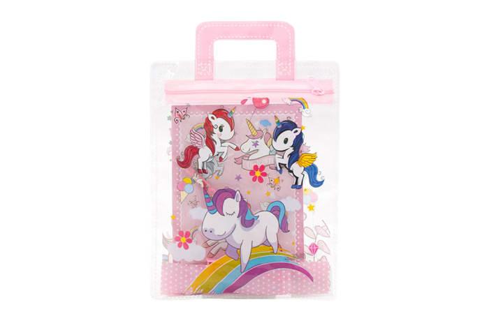 Bag & Stationery  Unicorn Love Set image