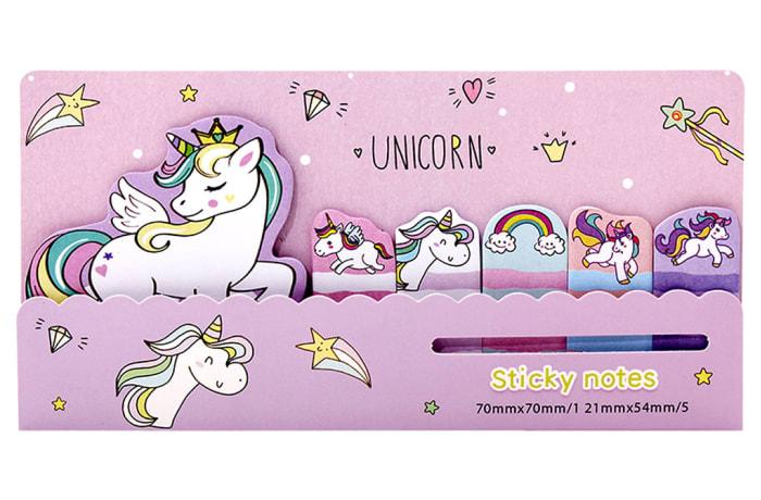 Memo Notes Unicorn Love  Sticky Notes image