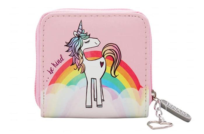 Unicorn Love Purse Single Zip Wallet image