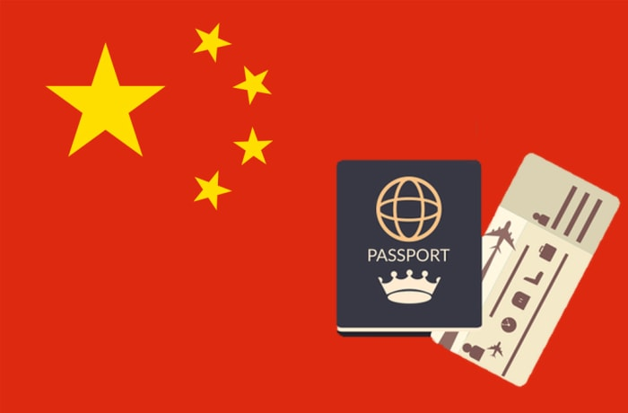 Double Visa - China image